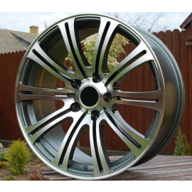 R16X7.5 5X120 ET23 74.1 Grey polished