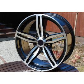 R16X7 5X120 ET35 72.6 Black polished
