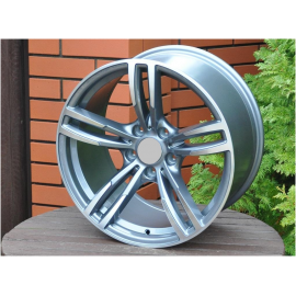 R16X7 5X120 ET34 72.6 Grey polished